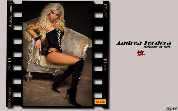 ... to Mobile Phone Andrea Teodora Celebrities Female wallpaper num.22