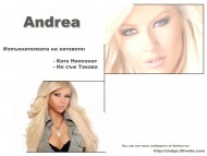Download Andrea / Celebrities Female