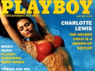Download Playboy Magazine Cover / Charlotte Lewis