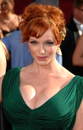 Free Send to Mobile Phone Christina Hendricks Celebrities Female wallpaper num.5