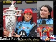 2008 Japan Win / Danica Patrick