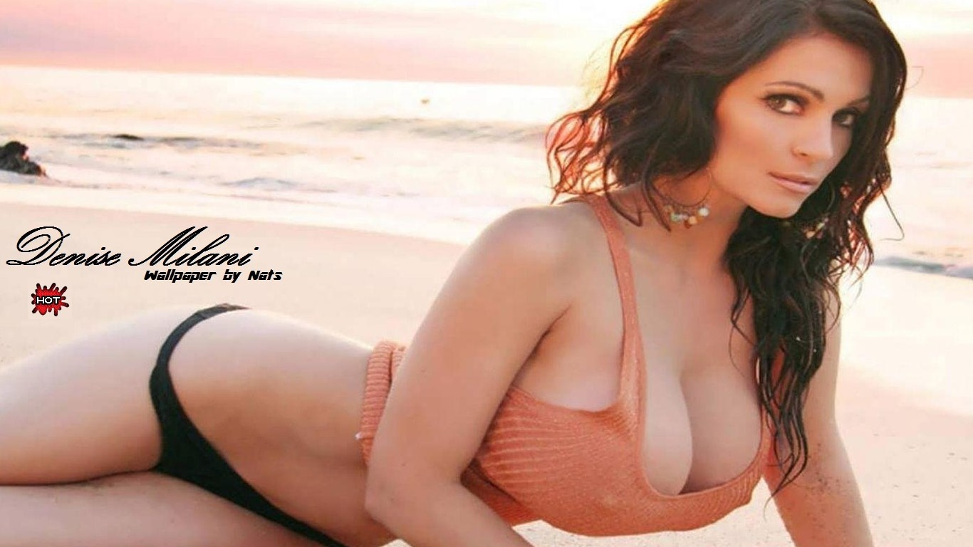 ... full size Denise Milani wallpaper / Celebrities Female / 1366x768
