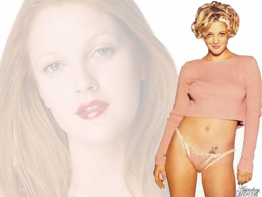 Full size Drew Barrymore wallpaper / Celebrities Female / 1024x768
