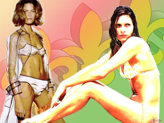 Free Send to Mobile Phone Frankie Rayder Celebrities Female wallpaper num.8