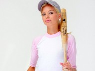 With a baseball bat / Franziska Facella