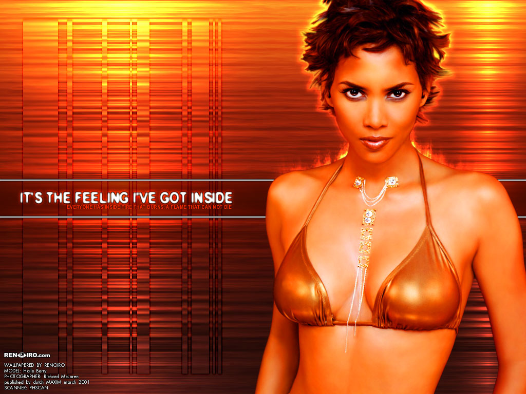 Full size Halle Berry wallpaper / Celebrities Female / 1024x768