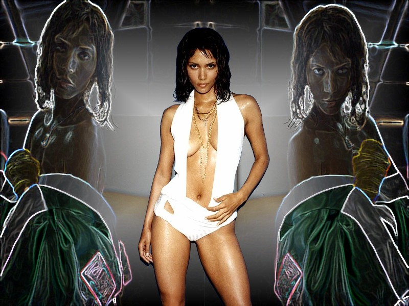 Full size Halle Berry wallpaper / Celebrities Female / 800x600