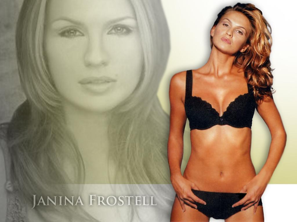Download Janina Frostell / Celebrities Female wallpaper / 1024x768