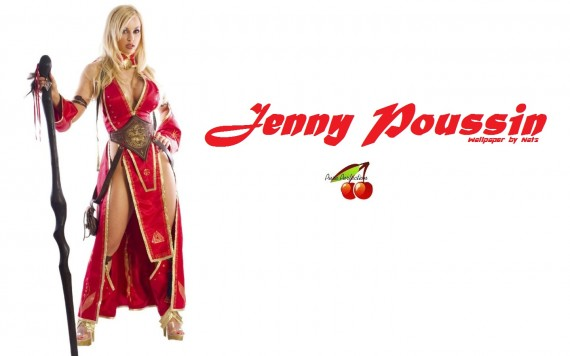 ... Send to Mobile Phone Jenny Poussin Celebrities Female wallpaper num.8