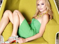green chair / Kate Bosworth