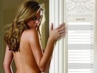 Official Calendar 2008 august / Keeley Hazell
