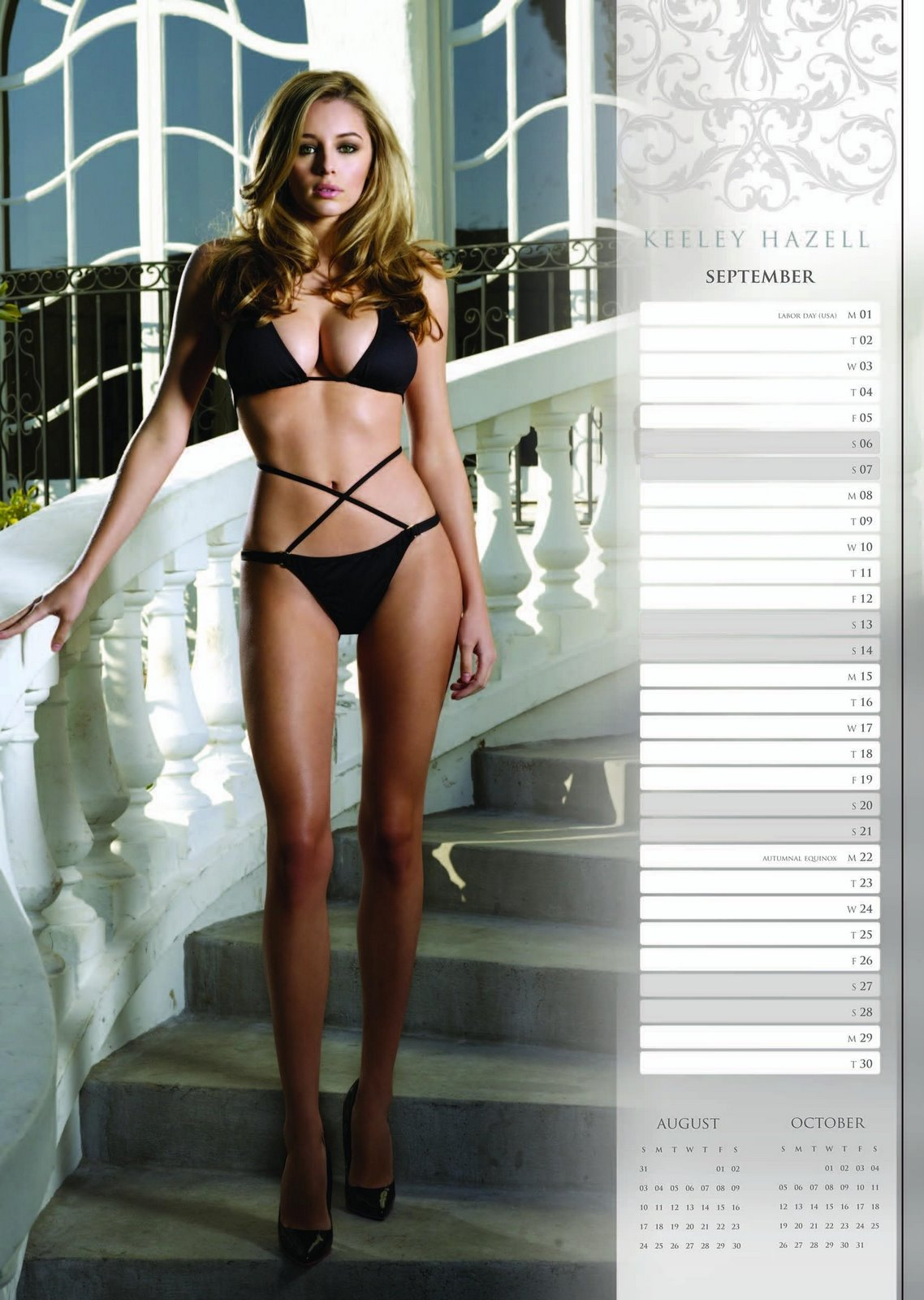 keeley hazell calendar