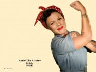 Download pink, rosie the riveter, rosie, riveter, raise your glass, sexy, work / Pink