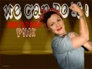 pink, p!nk, riveter, rosie, raise your glass, stupid girls / Pink