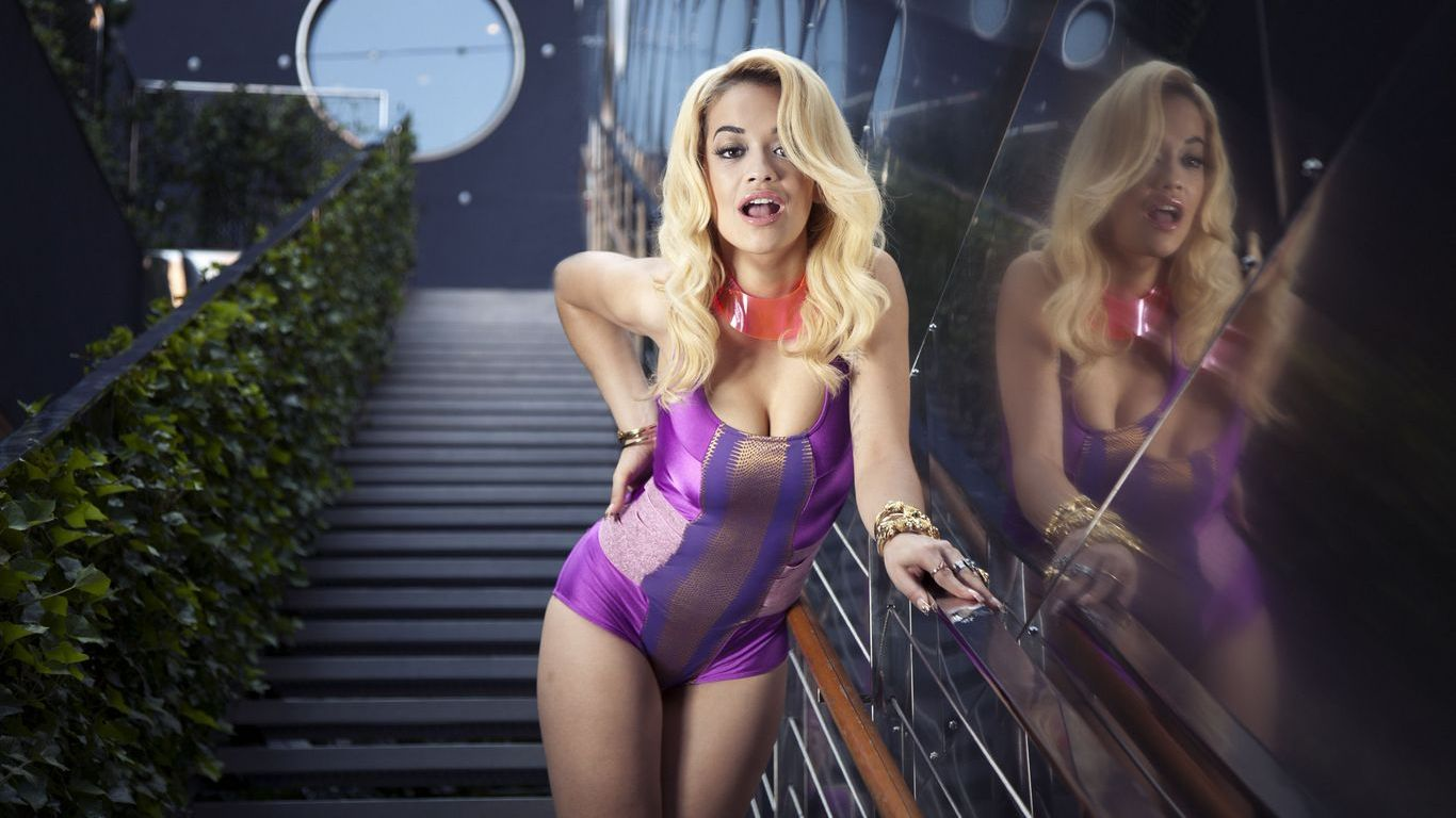 Download full size Rita Ora wallpaper / Celebrities Female / 1366x768
