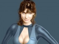 Skinny suit / Sandra Bullock