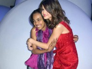 With fan / Selena Gomez