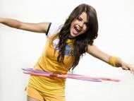 whirling hoop / Selena Gomez