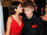 With Justin Bieber / Selena Gomez