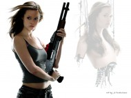 Summer Glau / Celebrities Female