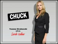 chuck, sarah walker, spies, yvonne, spy / Yvonne Strahovski