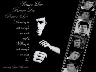 Black & white / Bruce Lee