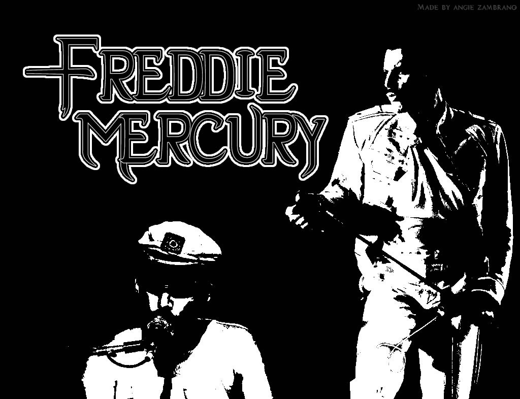 Download Freddie Mercury / Celebrities Male wallpaper / 1024x786