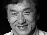 Download Greyscale photo / Jackie Chan