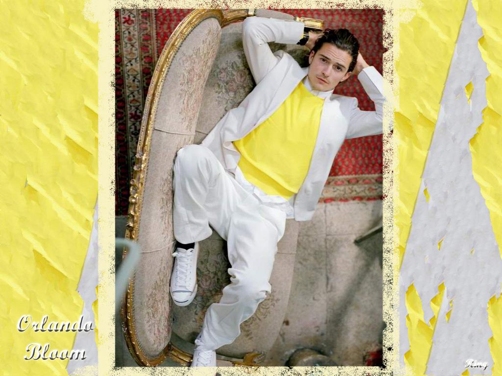 Full size Orlando Bloom wallpaper / Celebrities Male / 1024x768