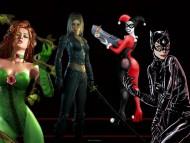 Download batman girls, poison ivy, harley quinn, talia al ghul, catwoman, arkham city / Batman's Women