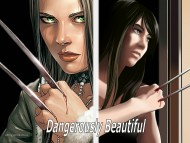 Wolverine dangerously beautiful / Characters