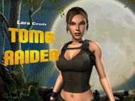 tomb raider, angelina jolie, guns / Lara Croft