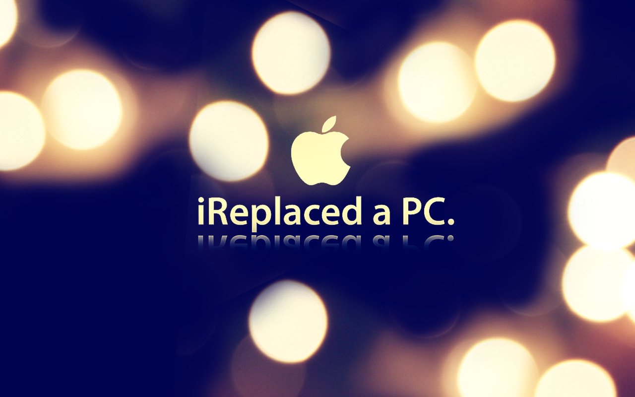 Download High quality apple, mac, macbook pro, logo Mac wallpaper / 1280x800