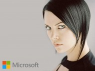 girl, microsoft, aeon flux / Windows