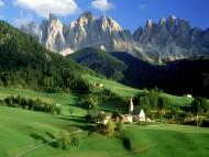 Mountains village / Italy