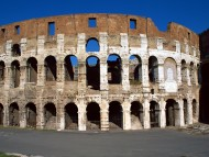 The Coliseum (lat. Colosseum, italy Colosseo) / Italy