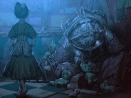 Little Sister and Big Daddy / Bioshock