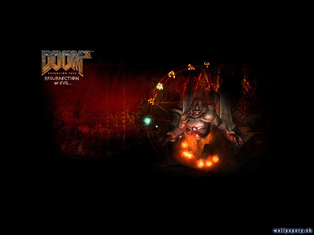 Free Download full size DOOM 3 Resurrection Of Evil Wallpaper Num