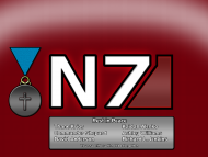 N7, Medal, Sacrifice, Post, Game, Mass, Effect, Shepard, Thane, Krios, Admiral, Anderson, Ashley, Williams, Lieutenant, Commander, Kaidan, Alenko, Mordin, Solus, Richard, Jenkins / Mass Effect 3