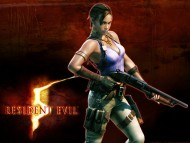 girl with shotgun / Resident Evil