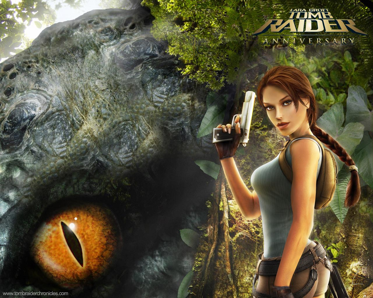 Download full size Tomb Raider Anniversary wallpaper   Games    Tomb Raider Anniversary Wallpaper