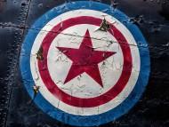 Aircraft Sheild / Captain America
