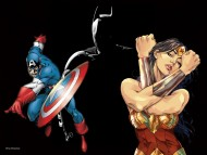 bruce wayne, gotham city, batman wallpapers, joker, / Captain America