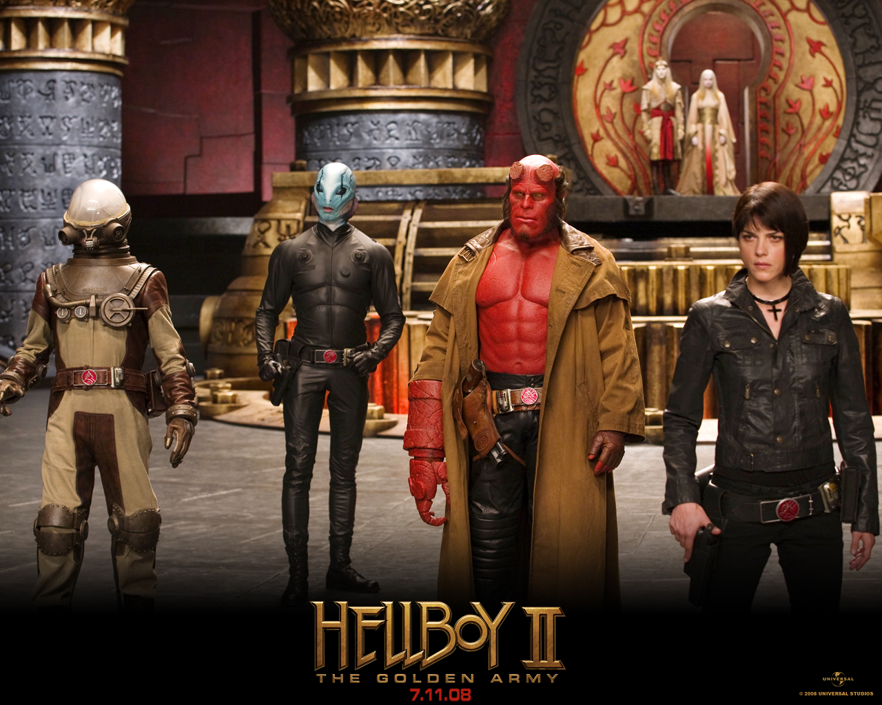 Free Download High quality Hellboy 2 The Golden Army Wallpaper Num.