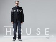 House Wallpaper Im fine / House M.D.