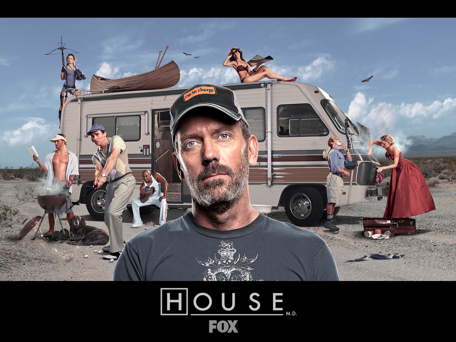 Download HQ House Wallpaper RV House M.D. wallpaper / 1600x1200