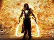 Mickey Rourke in fire / Iron Man 2