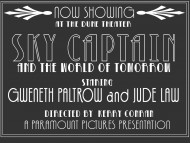 Sky Captain / Movies