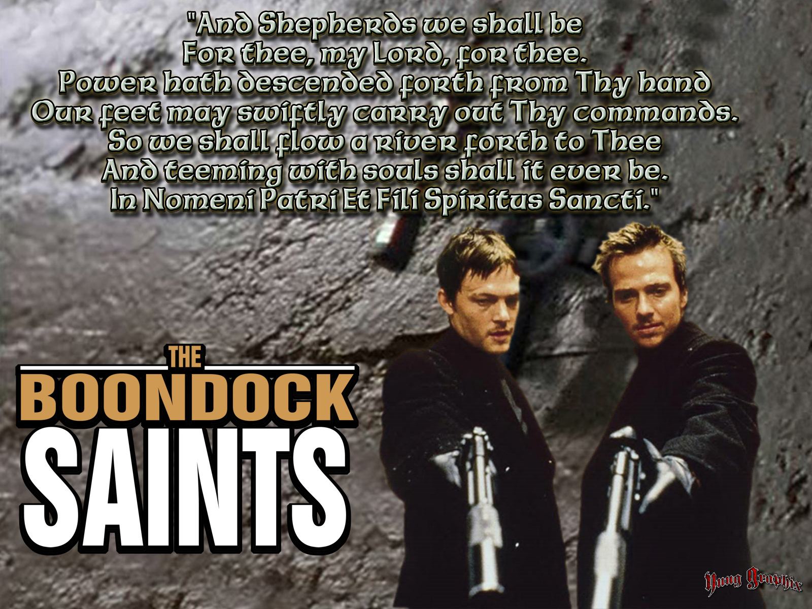 free download high quality the boondock saints wallpaper