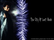 The City Of Lost Souls / Movies